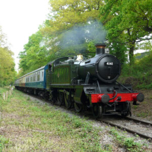 Ongar Steam Train